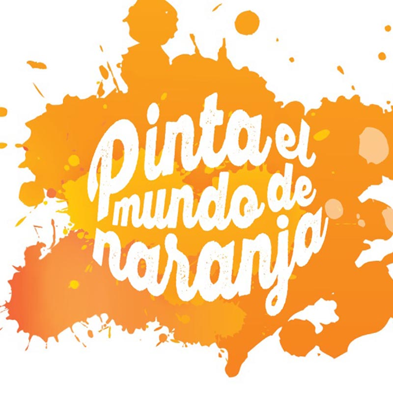 Pinta tu Mundo de Naranja